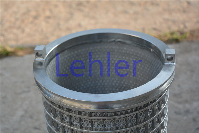 Pulp And Paper Wire Strainer Basket Second Stage Large Open Area Energy - Saving