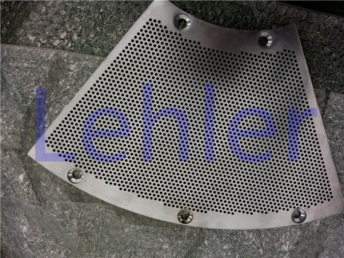 Electrolytic Polish Pressure Screen Basket With Hard Chrome Coating Drilled Type