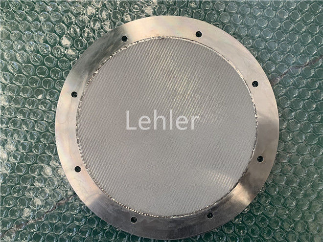 High Filtration Rate Sintered Wire Mesh Sintered Filter Plate Stainless Steel