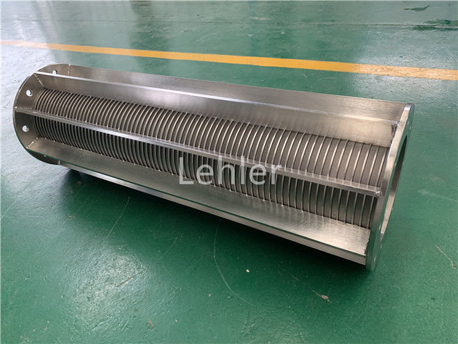 Electric Resistance Welding V Wire Screen 20 Micron For Pharmaceutical Industry